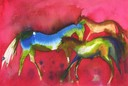 Red Horses - SOLD